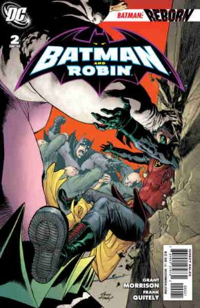 Batman And Robin #2 Retail Incentive Variant 1:25 DC comic book